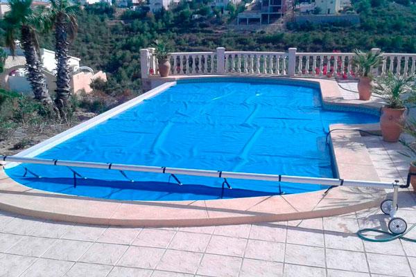 cobertor de protección de piscinas