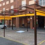 instalación de pérgola para hostelería